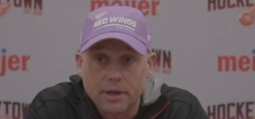 Hockey Fights Cancer Night has added meaning for Jeff Blashill in 2021