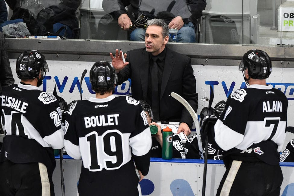 Laval Coach Bouchard Is the Best Coach in the Habs' System