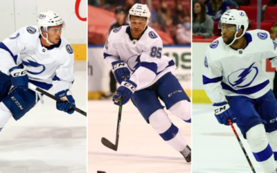 Lightning make NHL history by starting all-Black line in game against Panthers.