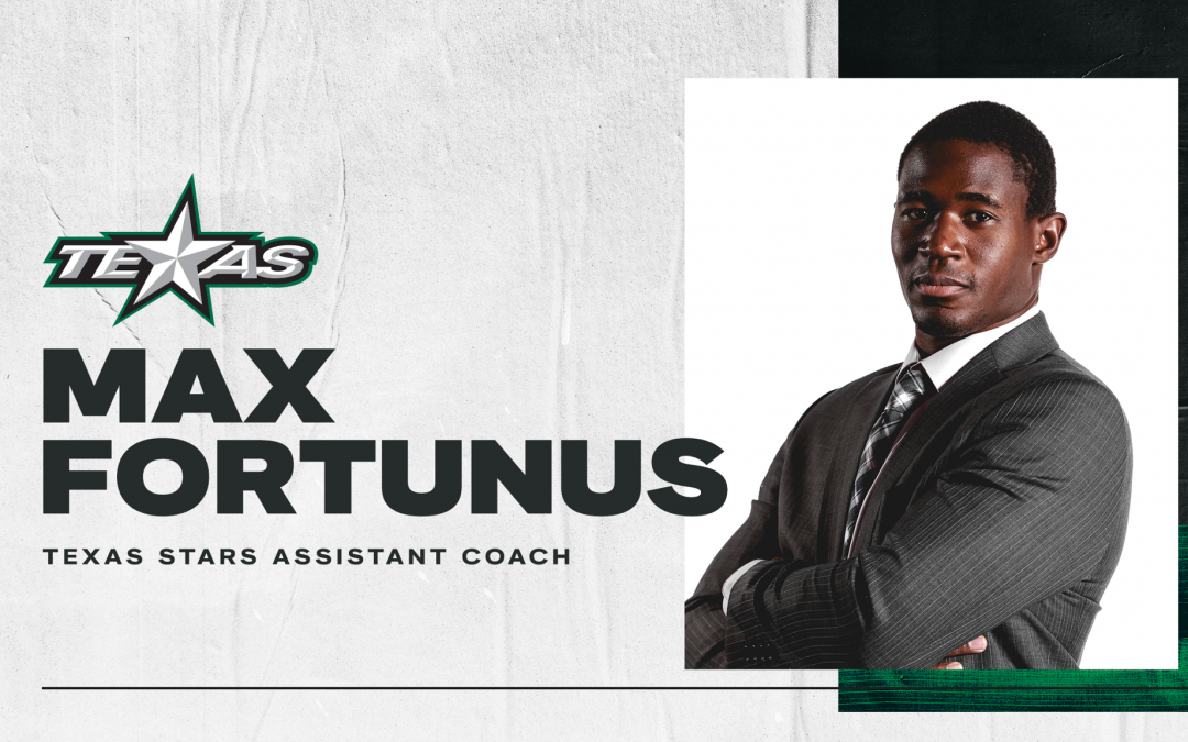 Max Fortunus hired as Texas Stars assistant coach
