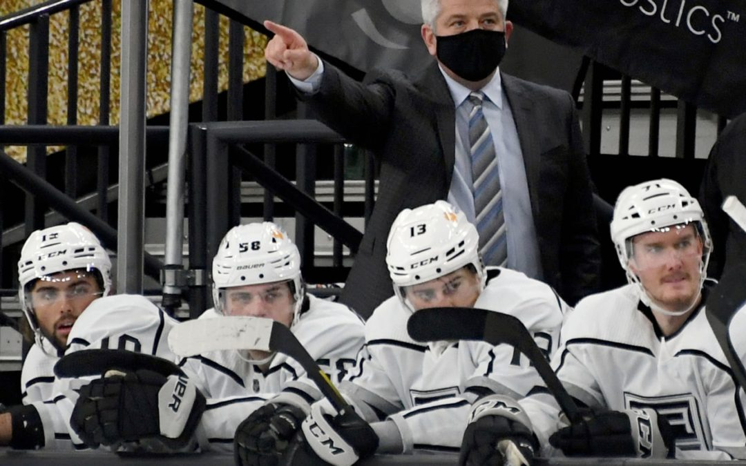 LA Kings' Todd McLellan: If You're Not Getting Better, We're Going Past You