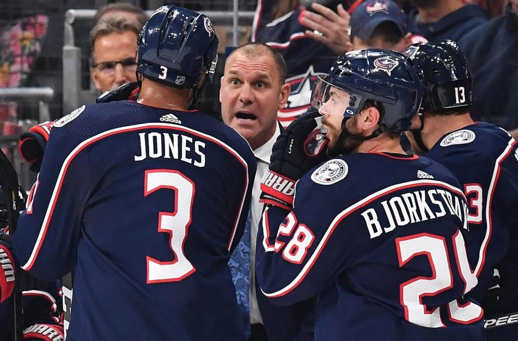 Blue Jackets were zeroed in on Brad Larsen from the start of the coaching search