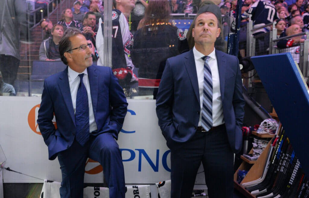 Blue Jackets Sunday Gathering: Brad Larsen may get a coaching mentor, and analytic flexibility