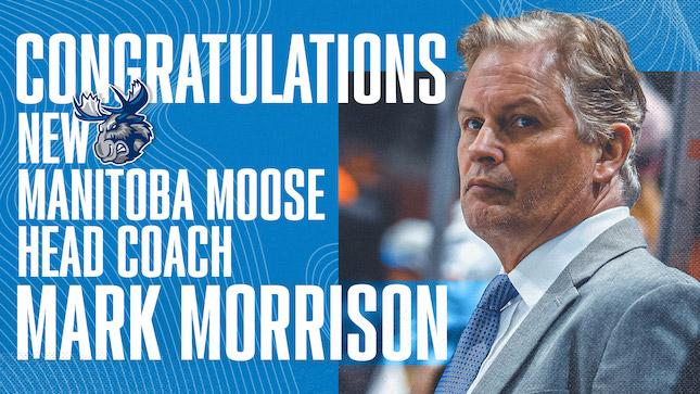 Mark Morrison Hired as Moose Head Coach