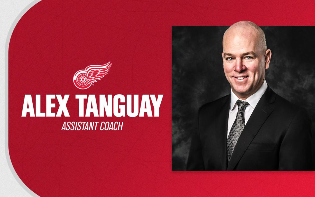 Red Wings hire Alex Tanguay as assistant coach