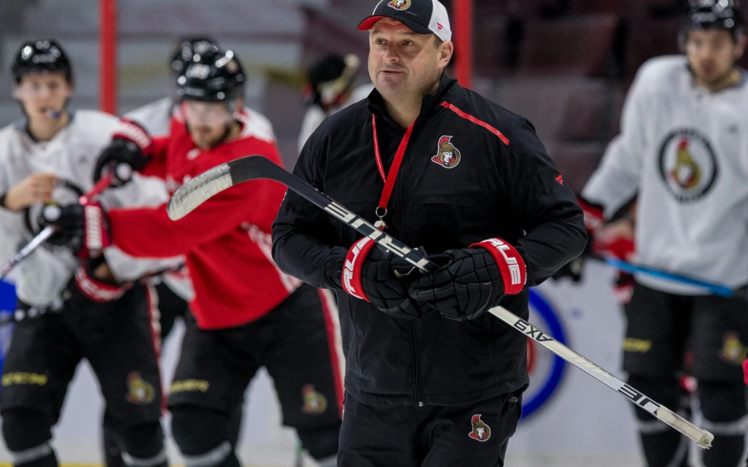 One-on-one with Ottawa Senators coach D.J. Smith with training camp set to get under way next month