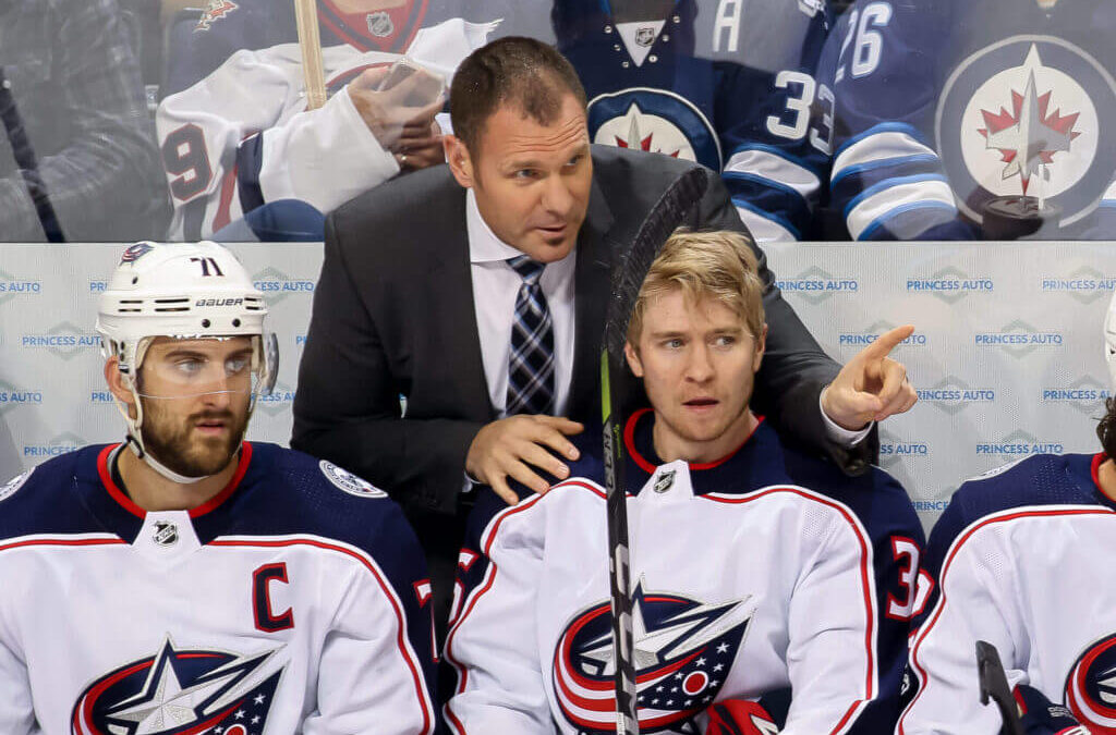 Brad Larsen Q&A: New Blue Jackets coach on summer upheaval and the opportunity it creates