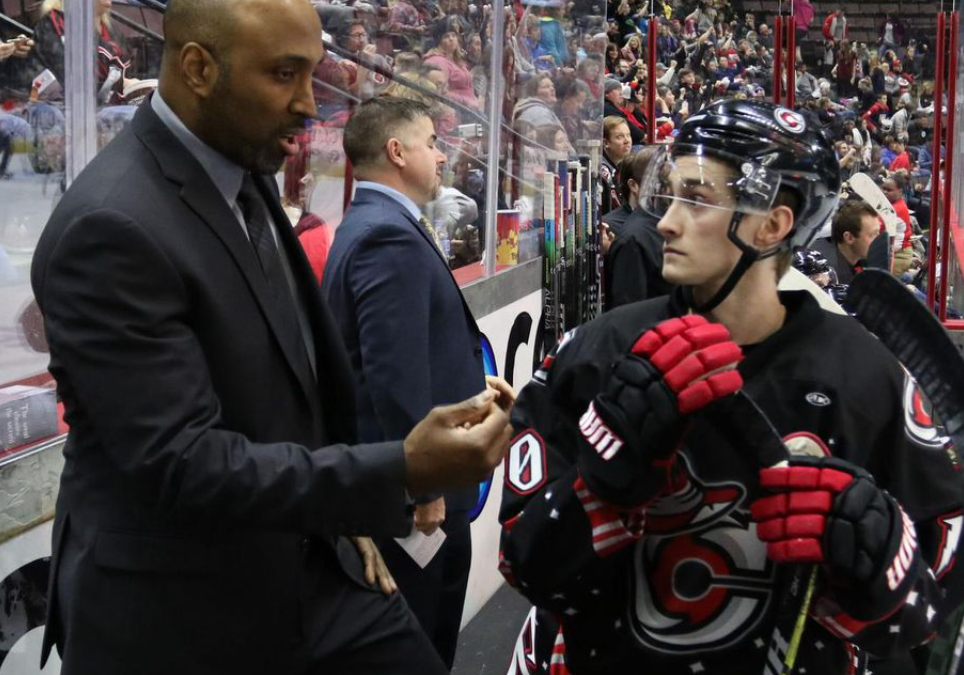 'There's no easy way up.' Toronto's Jason Payne, the only Black head coach in North American pro hockey, never gave up the fight