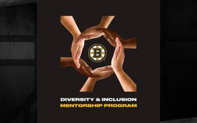 Bruins Announce Participants in the D&I Scouting Mentorship Program