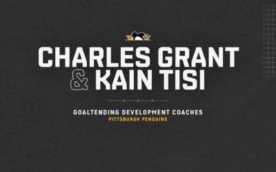 Penguins Name Kain Tisi and Charles Grant Goaltending Development Coaches