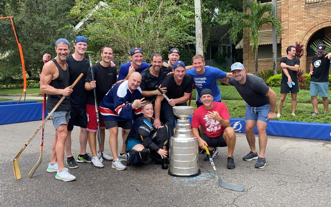 Halpern gets his day with the Cup
